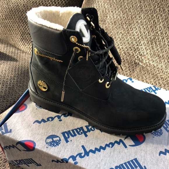 novel design a few days away exquisite style Timberland x champion NWT